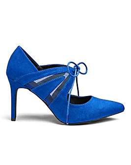 Sole Diva Tara Tie Point Shoes E Fit
