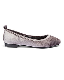 Sole Diva Pippa Point Ballerina E Fit