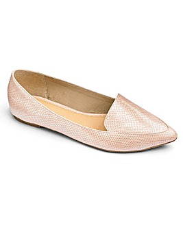 Sole Diva Pointed Loafer EEE Fit