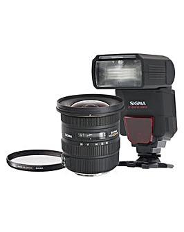 Sigma 10-20mm f/3.5 EX DC HSM Lens kit