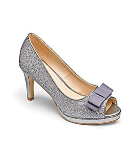 Heavenly Soles Glitter Shoes E Fit