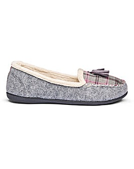 Padders Tassel Slippers E Fit