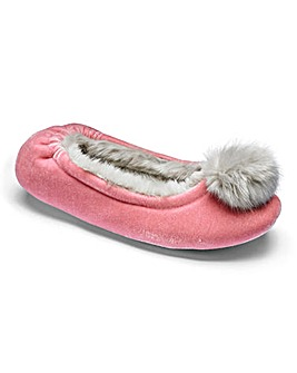 Heavenly Soles Ballerina Slippers