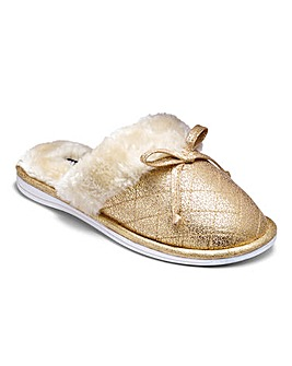 Lotus Mule Slippers EEE Fit