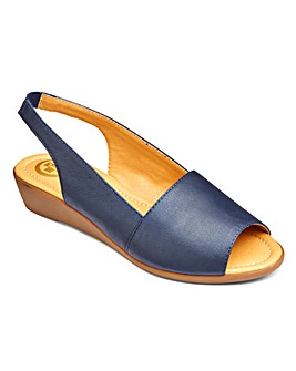 Dr Keller Slingback Sandals E Fit