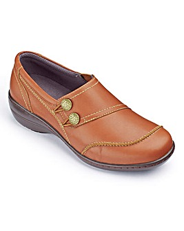Brevitt Elasticated Loop Shoes EEE Fit