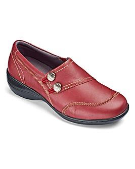 Brevitt Elasticated Loop Shoes EEE Fit
