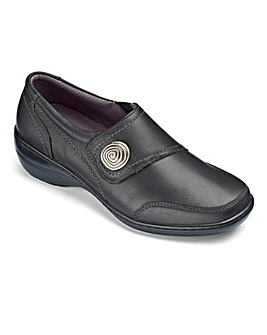 Brevitt Touch and Close Bar Shoes EEE