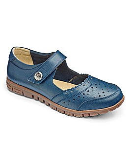 Cushion Walk Leather Bar Shoes E Fit