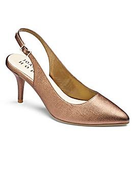 JOANNA HOPE Slingback Shoes E Fit