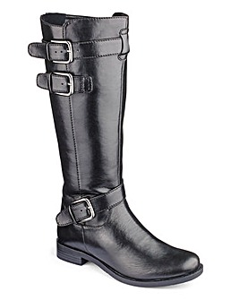 Heavenly Soles Knee High Boots D Fit