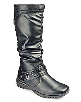 Cushion Walk Knee Boots E Fit Standard