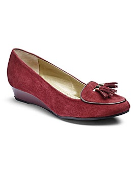 Van Dal Suede Wedge Shoes E Fit