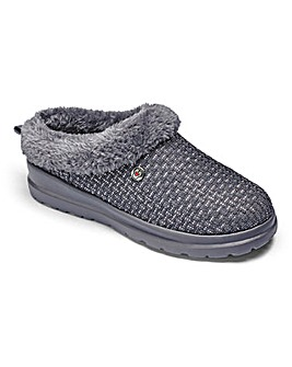 Skechers Warmlined Weave Mule Slippers