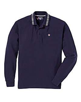 Fila Ace Long Sleeved Polo Long