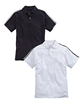 JCM Sports Pack of Two Polo Shirts
