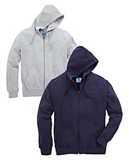 JCM Sports Pack of 2 Hooded Sweatshirts