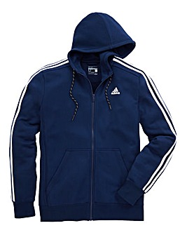 adidas Essentials 3S Full-Zip Hoodie