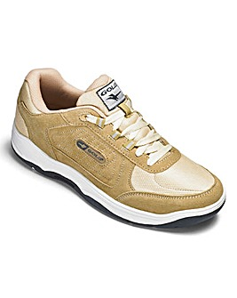 Gola Belmont Suede Lace Trainer Wide