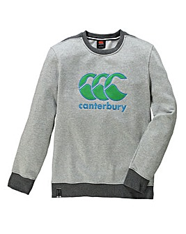 Canterbury CCC Logo Crew Neck Sweatshirt