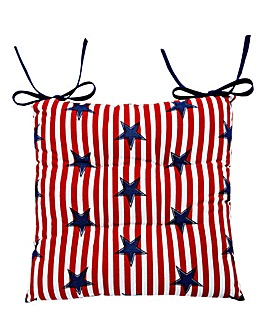Stars & Stripes Cushion Seat Pad