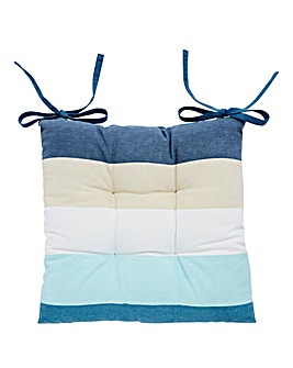 Ocean Stripe Cushion Seat Pad
