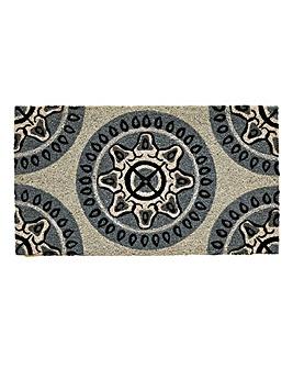 Mandala Glitter Door Mat
