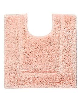Silky Supersoft Pedestal Mat Seashell Pk
