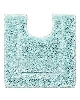 Silky Supersoft Pedestal Mat Whisp Blue