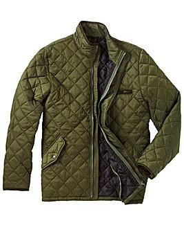 Jacamo Quilted Jacket Long Length