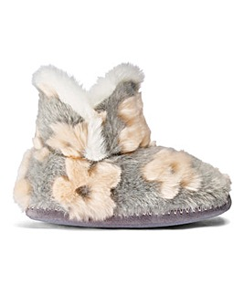Heavenly Soles Plush Slipper Boots