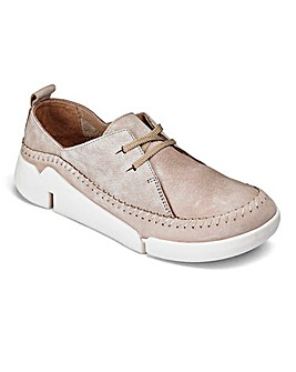 Clarks Tri Angel Lace Up Shoes D Fit