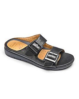 Clarks Un Harla Mule Sandals D Fit