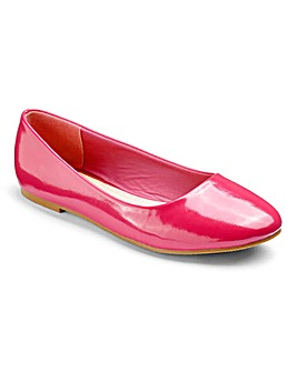 Heavenly Soles Ballerina Shoes D Fit