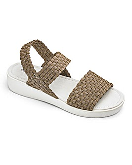 Cushion Walk Stretch Sandals E Fit