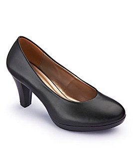 The Shoe Tailor Court Shoes EEE Fit