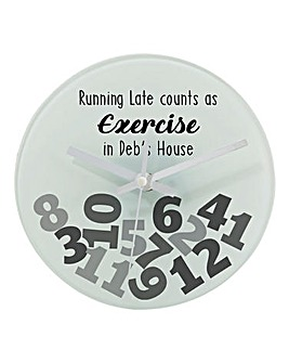 Pers Late Counts as Exercise Clock
