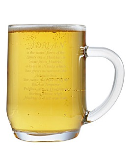 Personalised Meaning of Name Tankard