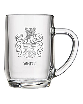 Personalised Coat of Arms Tankard