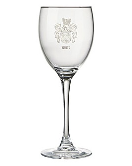 Personalised Coat of Arms Wine Glass