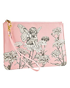 Flower Fairies Wristlet Bag
