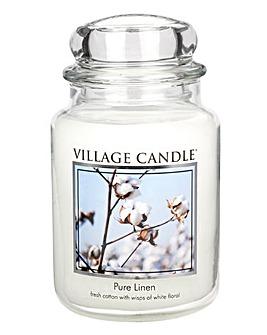 Linen Village Candle
