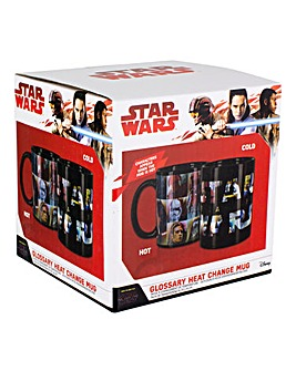 The Last Jedi Glossary Heat Change Mug