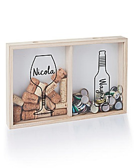 Personalised Couples Cork Collector