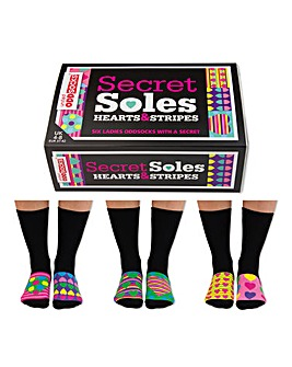 Sole Secrets Oddsocks for Ladies