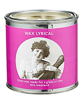 Wax Lyrical Enter-tin-ment Weekend Tin