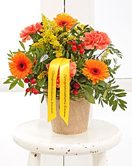 Personalised Autumn Arrangement