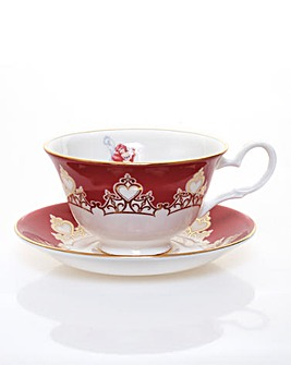 Ariel Tea Cup and Saucer Set