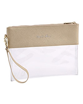 W&R Gold Time To Shine Travel Pouch