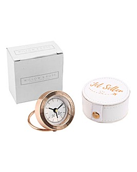 W&R Jet Setter Rose Gold Alarm Clock